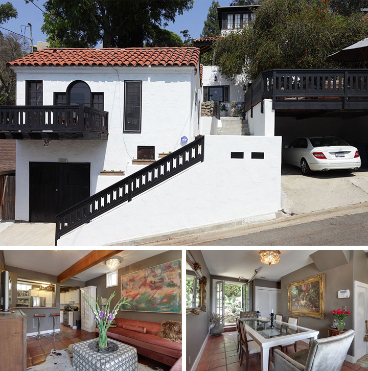 Actor James Franco Bought Mad Men Costumer's Silver Lake House!