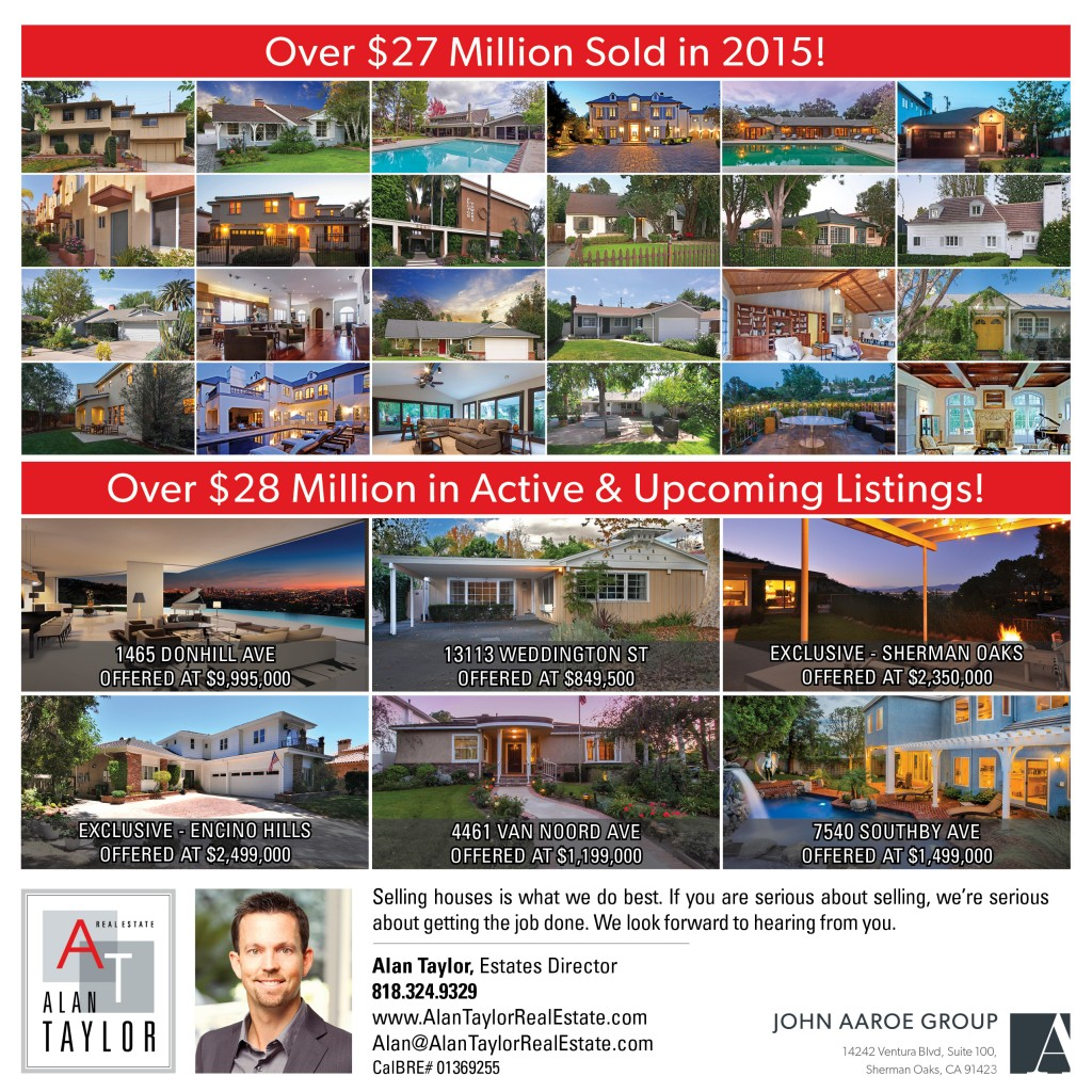 Over $27 Million Sold in 2015!